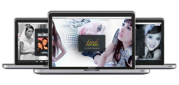 Website Design For Fendo Photography Studio