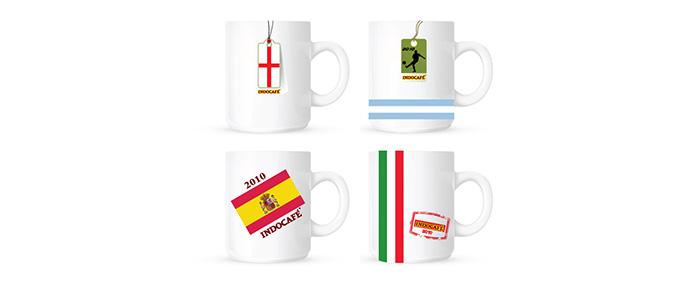 Promotional Gifts Design For Indo Cafe Soccer Mug