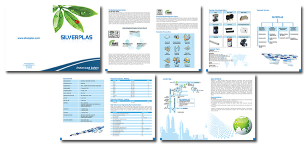 Product Catalogue Design For Silverplas