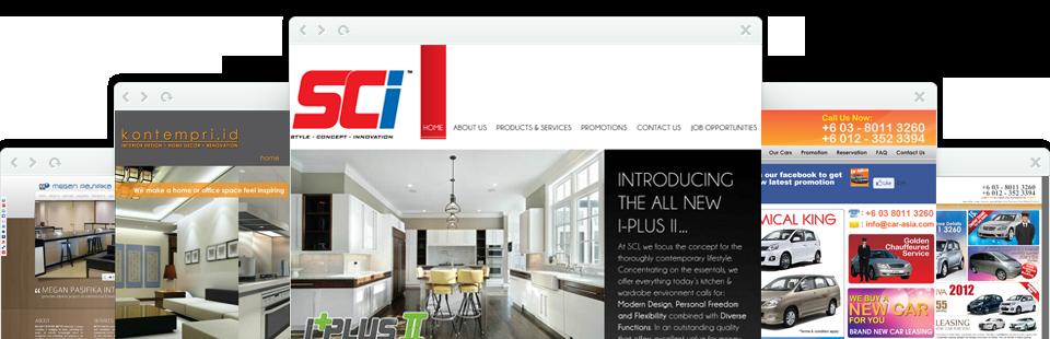 Web Design & Graphic Design Works & Portfolios