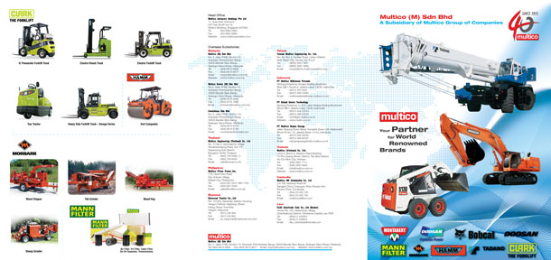 Product Catalogue Design For Multico Malaysia