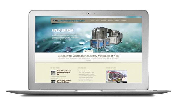 Website Design For WaTTersonTech Wastewater Treatment