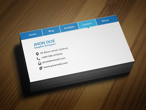 35 Types Stylish Business Card Design 05