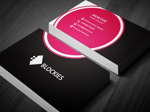 35 Types Stylish Business Card Design 11