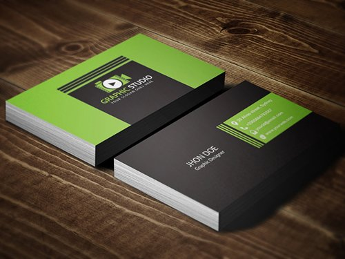 35 Types Stylish Business Card Design 12
