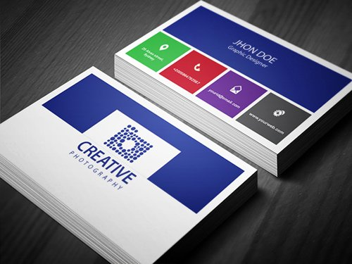 35 Types Stylish Business Card Design 13