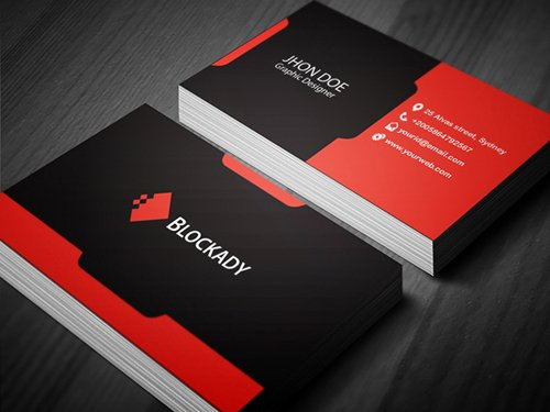 35 Types Stylish Business Card Design 14