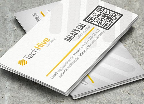 35 Types Stylish Business Card Design 20