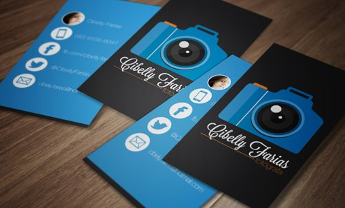 35 Types Stylish Business Card Design 21
