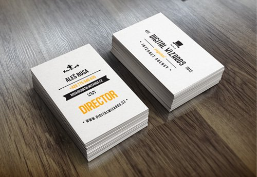 35 Types Stylish Business Card Design 24