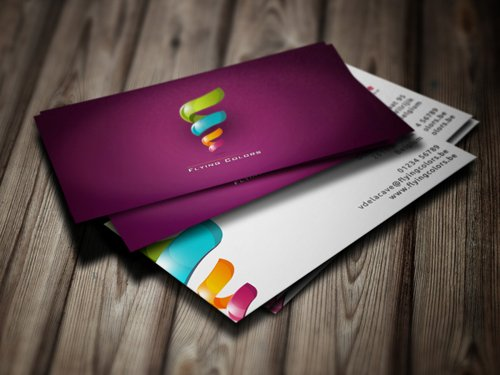 35 Types Stylish Business Card Design 26