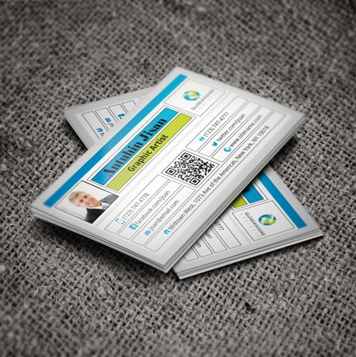 35 Types Stylish Business Card Design 27