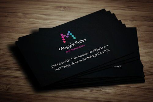 35 Types Stylish Business Card Design 29